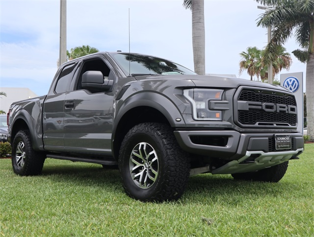 Ford F-150 Raptor For Sale >> Used 2018 Ford F 150 Raptor For Sale West Palm Beach Fl G019242a