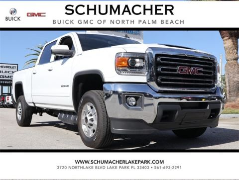 New 2018 GMC Sierra 2500HD SLE